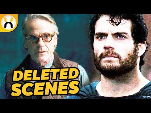 Justice League Deleted Scenes You Never Saw