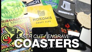 Laser Engrave Coasters | Acrylic Coasters | Wooden Coasters