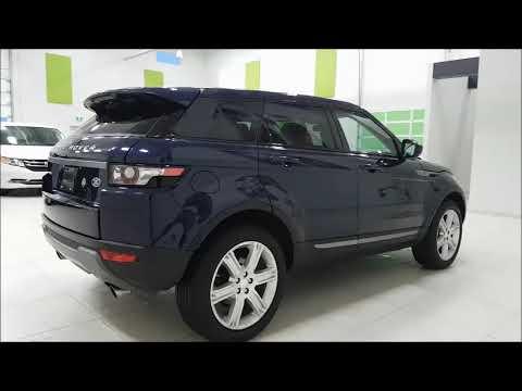 Range Rover A Vendre >> Range Rover Evoque A Vendre