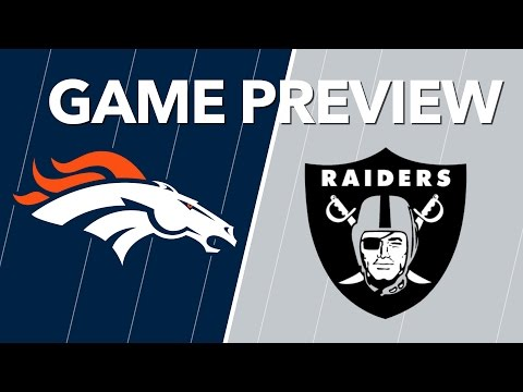 Broncos vs Raiders Predictions