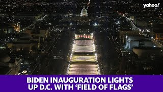 Joe Biden's inauguration lights up Washington, D.C. with 'Field of Flags'