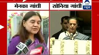 Nehru belonged to the country, not just a party: Maneka Gandhi hits out at Sonia