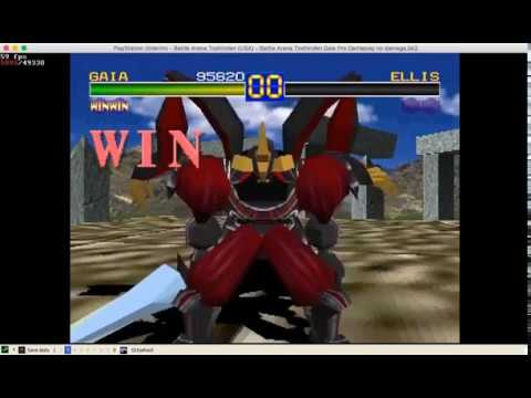 [TAS] Battle Arena Toshinden no damage no RO very hard difficultyGAIA