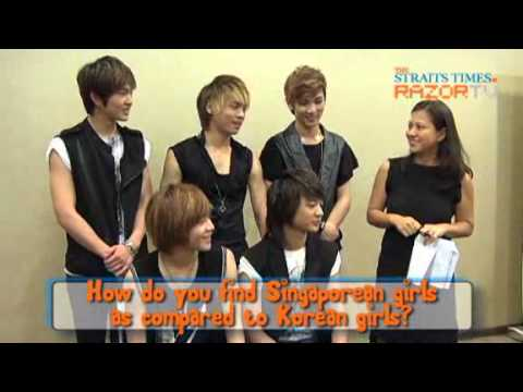 SHINee loves passionate Singapore female fans (e-Awards 2010 Ep1.3) Backstage interview