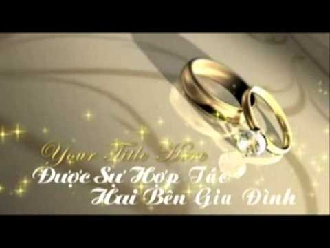 Clip giới thiệu đám cưới đình toàn thu liệu