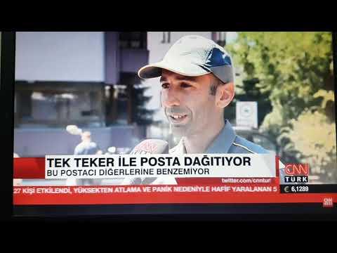 TEK TEKERLEKLI POSTACI CNN TÜRK ' DE