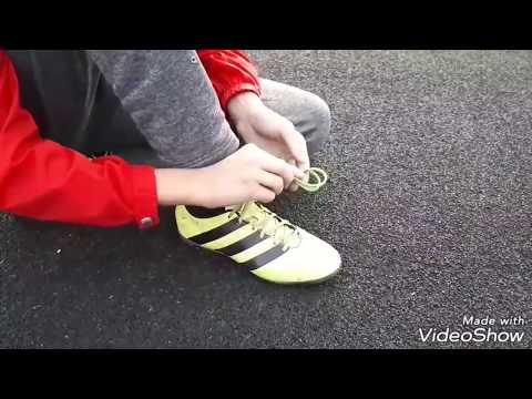 Топ 3 способа завязать шнурки по футбольному