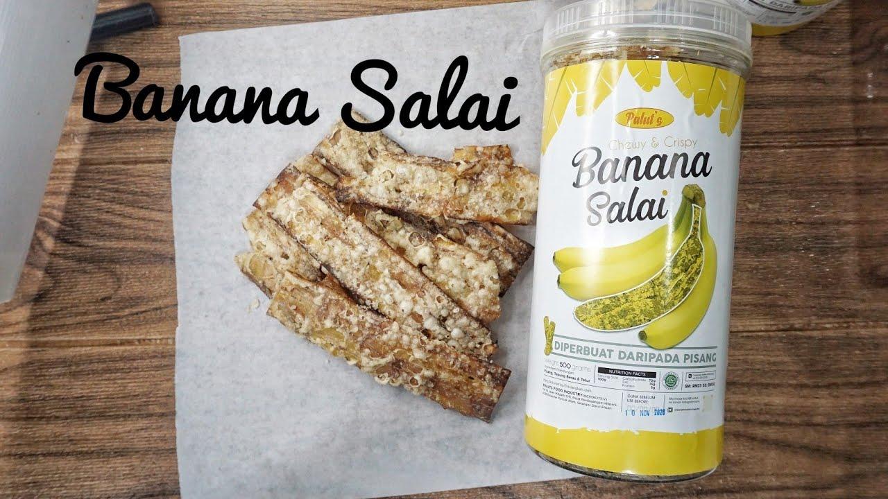 Banana Salai Sedap Ke First Time Cuba Pisang Salai Goreng Rangup Youtube