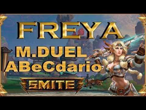 SMITE! Freya, Sin early vamos a late?! Master Duel Abecedario #29