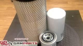 Комплект фильтров Sakura Воздушный AS 51540 Топливный FC 5710 Топливный FC 1301
