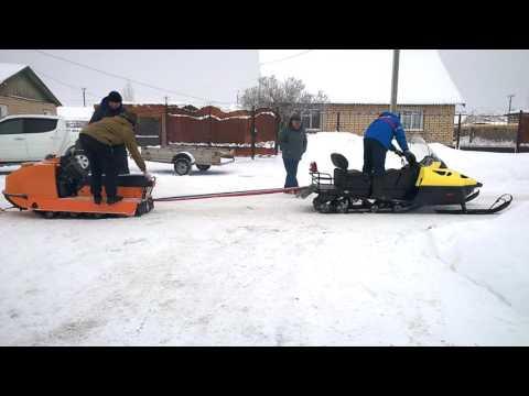 Снегоход ТАЙГА АТАКА 551 II - buran-