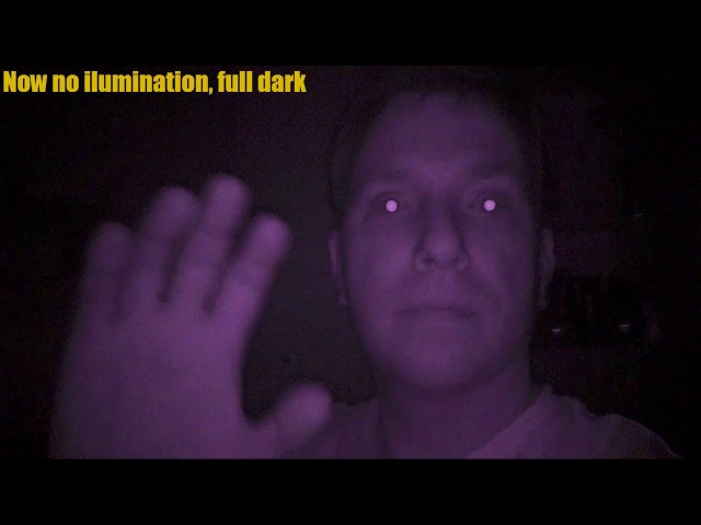 Mini DV Camera SQ8 Night Vision Demonstration