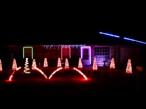Christmas light show 2013- Jingle Rock