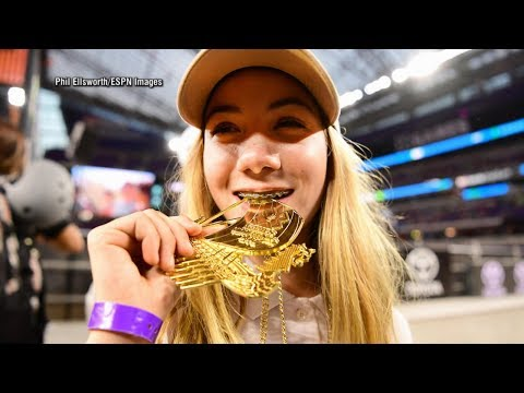 How this 13-year-old girl became the youngest gold medalist in X Games history