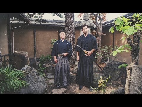 Samurai Training in Kyoto, Japan
