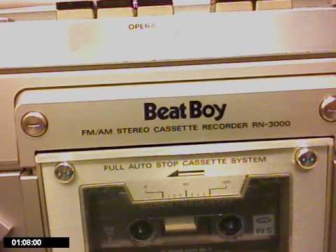 Columbia BeatBoy RN-3000 Boombox