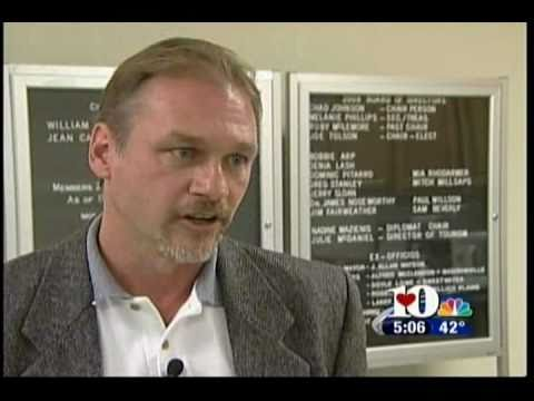 WBIR 10 News (03-22-10) Rockslides & Impact on Monroe County, TN
