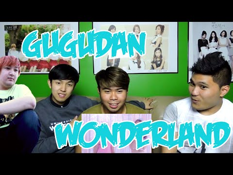 GUGUDAN - WONDERLAND MV REACTION (FUNNY FANBOYS)