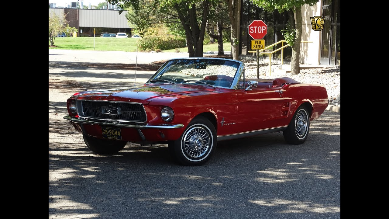 1967 Ford Mustang Convertible Youtube