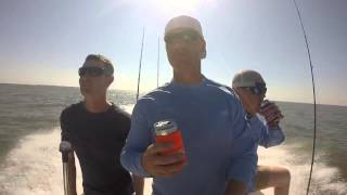 GoPro Fishing in Galveston Bay