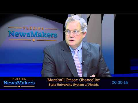 Florida NewsMakers - Marshall Criser III, Chancellor of Florida's State University System