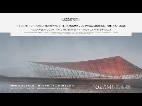 Charla: 1° lugar concurso Terminal Internacional de Pasajeros de Punta Arenas