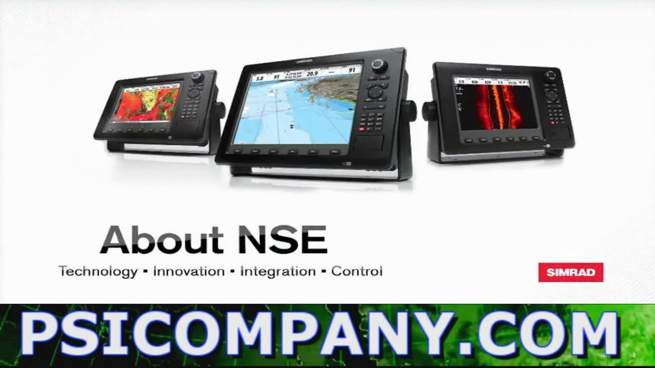 Simrad NSE8 and Simrad NSE12 Hardware Video Overview