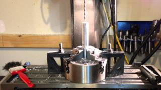 making a home made silencer part 4 drilling and threading