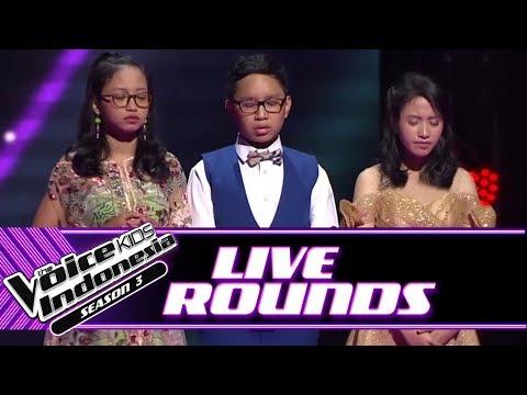 Hasil Voting  Round Ke-2   Rounds  The Voice Kids Indonesia Season 3 GTV