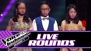 Baixar Hasil Voting Live Round Ke-2   Live Rounds   The Voice Kids Indonesia Season 3 GTV