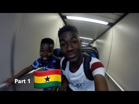 A TRIP TO GHANA - Arriving to Kumasi (Part 1)