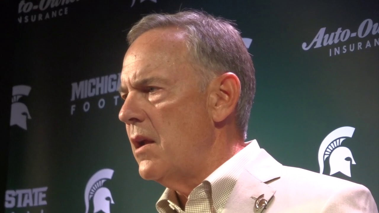 Mark Dantonio Press Conference Sept 3 - YouTube