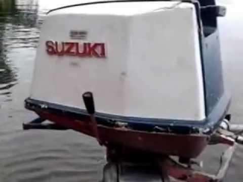 startup of a suzuki 9hp - youtube