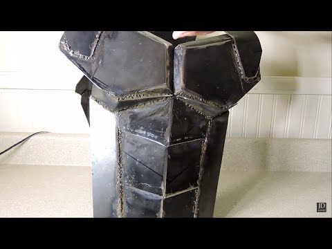 My Homemade Metal Armor (+ Torture Test)