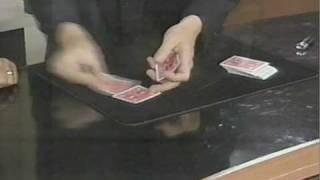 ACES trick on Live TV... Host gets too close - Magic with Rich Ferguson