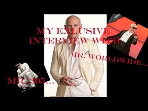 My Exclusive Interview With Pitbull (Rapper)