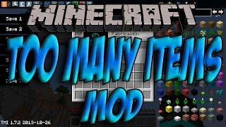Minecraft 1.8 - Como Instalar TOO MANY ITEMS MOD - ESPAÑOL [HD] 1080p Spotlight