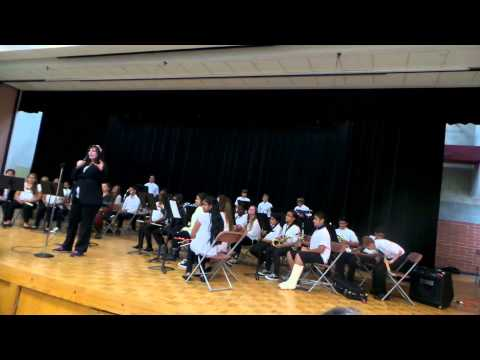 Cucamonga Middle School open house performance