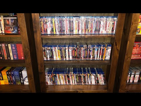 Code Red Blu Ray DVD Collection Overview Shelf One, Horror, Cult, Exploitation Out of Print