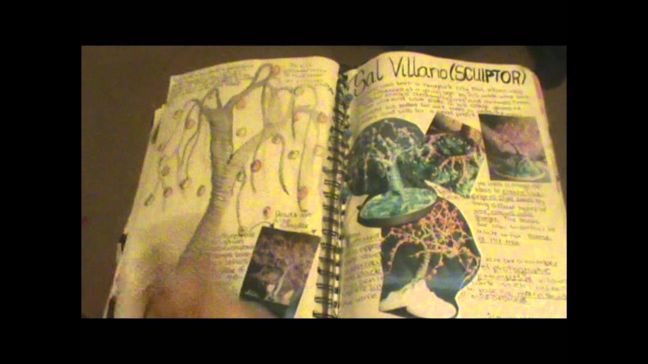Gcse art coursework book