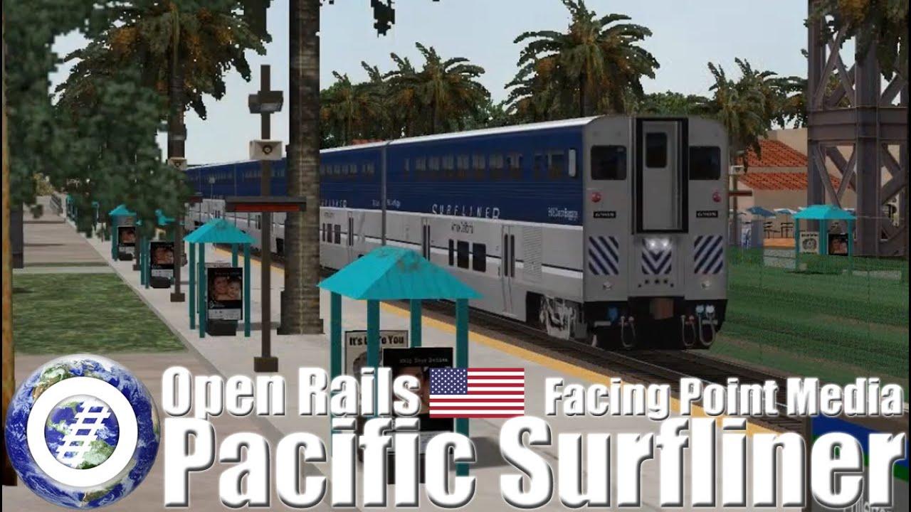 Open Rails (MSTS Compatible Train Sim) Pacific Surfliner