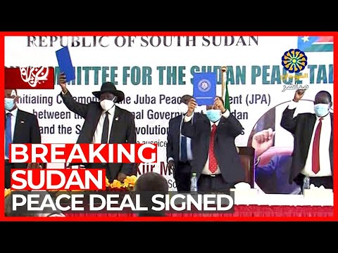 Sudan signs peace deal with rebel groups