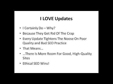 SEO Search Engine Algorithm Updates