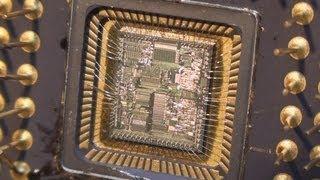 Intel 80186 Die-section CPU Teardown