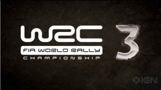 WRC 3 FIA World Rally Championships Launch Trailer