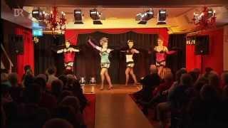 TV-Bericht BR über Rote Bühne Nürnberg mit Burlesque Ensemble