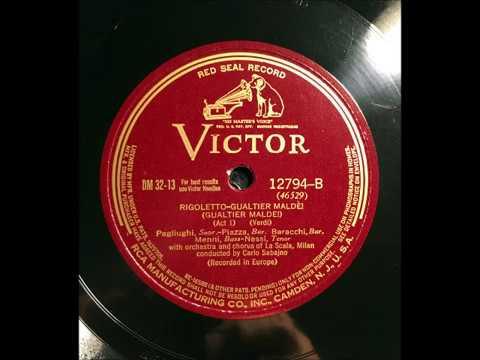 VERDI: 1927 Complete RIGOLETTO in Restored Sound