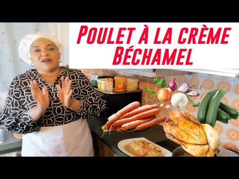 recette-facile-à-réaliser-:-poulet-à-la-crème-béchamel,-carotte,-courgette-et-pomme-de-terre