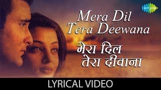 Mera Dil Tera Deewana with lyrics |मेरा दिल तेरा दीवाना गाने के बोल| Aa Ab Laut Chale |Aishwarya Rai