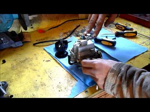 How to rebuild your Chinese scooter carburetor